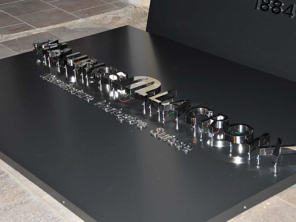 ışıklı kutu harf tabela tasarım